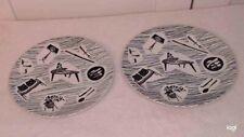 Vintage Ridgway 'Homemaker' Plates - 20cm / 8 Inch - Lot of 2