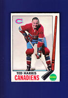 Ted Harris 1969-70 O-PEE-CHEE OPC Hockey #2 (EX) Montreal Canadiens