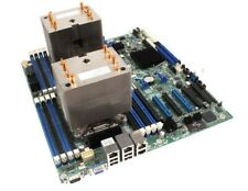 Intel S2600CP Dual Sockel 2011 Serverboard inkl. 2x CPU-Kühler
