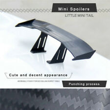1PC Carbon Fiber Mini Car Rear Spoiler Tail Wing Decorative Car Styling Stickers