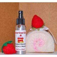 STRAWBERRY SHORTCAKE Handmade Scented Dry OIl Perfume by Doctor Sweet Tooth