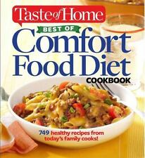Taste of Home Best of Comfort Food Diet Cookbook: Lose weight with 749 recipes f