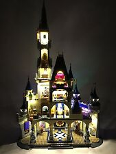 NewLight Disney Castle Tower Lighting Kit for Lego 71040 with 2 extra spot light