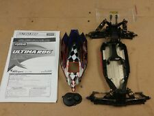 Kyosho Ultima RB6 Mid-Motor Complete 1/10 2wd Buggy Roller Rolling Chassis +Body