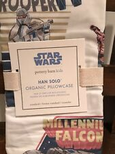 Pottery Barn Kids Star Wars Han Solo Organic Pillowcase