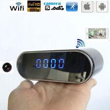 HD WIFI 1080P SPY Hidden Clock Camera IR Night Vision Motion Detection Video Cam