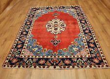 Persian Traditional Vintage Wool 203cmX150cm Oriental Rug Handmade Carpet Rugs