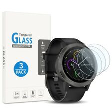 3 X For Garmin Vivoactive 3 Clear Tempered Glass Screen Protector Smart Watch