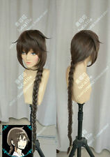 New Girls Long Brown Ponytail Braid Cosplay Sleepy Hollow Orihara Mairu Full Wig