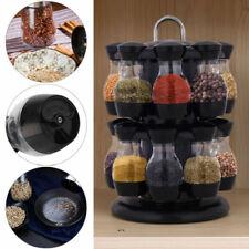 WUNSCHETIKETT 60 ml für Kräuter Gewürze u.ä 6 Gewürzgläser mit Bakelit-Deckel