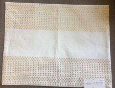 New listing New Threshold Placemat - Ivory with Gold Embroidery - 14 in x 19 in