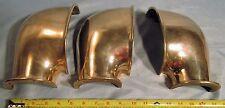(3) x Perko Marine 782 2 Vintage Bronze Boat Space Saver Side Mount Vent