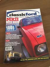 Classic Ford Magazine November 2004 Zakspeed Capri, V8 100E Pop, Mk2 Granada