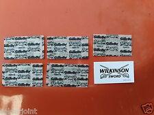 5 Gillette Wilkinson Sword Double Edge Razor Blades FREE SHIPPING