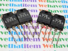 2SA1135 & 2SC2665 / TRANSISTOR / TO3PN / 2 PIECES OF EACH = 4 PIECES TOTAL(qzty)