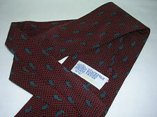 STACKPOLE MOORE TRYON PAISLEY DIAGONAL DOTTED PINSTRIPE DOBBY WEAVE NECK TIE NEW