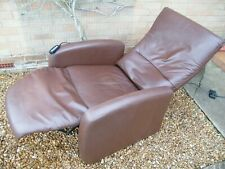 Himolla Electric Brown Recliner Chair 277 2