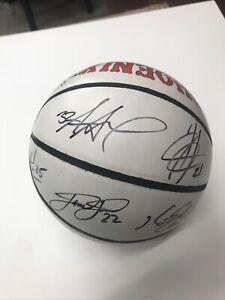 Phoenix Suns 2005 Team Signed Basketball Signatures Autos Steve Nash Stoudemire