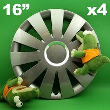 "Radkappen 16"" BEAT ★4 Stück ★ GRAPHIT SKODA Octavia Superb Yeti VW Sharan Tiguan"