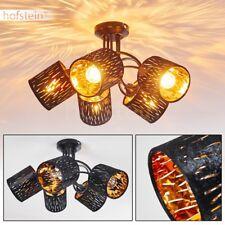 Licht Effekt Decken Lampen Flur Dielen Wohn Schlaf Zimmer Leuchten schwarz/gold