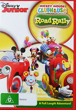 MICKEY MOUSE ROAD RALLY KIDS  DVD
