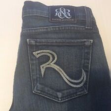 Rock & Republic Jeans Berlin Skinny Size 27 Med Wash Made in USA Ships Free