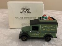 Retired - Dept Department 56 - Dickens Village - Village Express Van - #5865-3