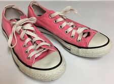 CONVERSE All Star Low Top Pink Canvas Shoes Womens Size 7 FAST SHIP!