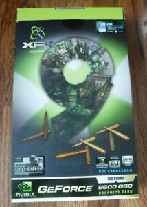 XFX  Paly Hard 1GB GDDR2 PCI Express 2.0 GeForce 9600 GSO NVIDIA Video Graphic C