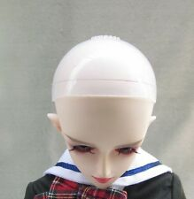 BJD Head Silicone Wig Cap 7-8 inch 1/4 MSD Dollfie Doll Head Protection Cover