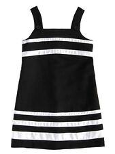 Maria Casero Luli & Me Girls Black and White Dress Size 8 Spring-Summer NWT