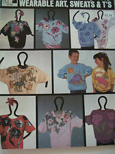 Lynn Paulins Step by Step Wearable Art Pattern Applique Painted Flower Book 1988