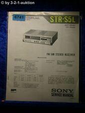 Sony Service Manual STR S5L Receiver (#6741)