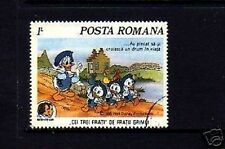 Romania - 1985 - Disney - Donald Duck - Grimm - 3 Brothers - Cto Nh Single!