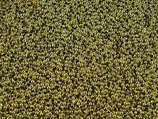 Beads 3mm Round Plastic Gold 25g Spacer Jewellery Craft FREE POSTAGE
