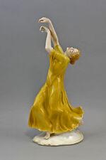 """Porzellan Figur Tänzerin """"Finale"""" gelb Ens 16x11x32 cm 9941259"""