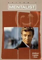 The Mentalist, saison 1 - DVD 6 (3 episodes + bonus)