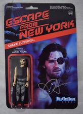 Escape From New York Snake Plissken Reaction Figures 2 Signed John Carpenter