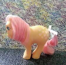 💛Vintage My Little Pony *PEACHY* 1982 [Playset Ponies] PRETTY Parlor Pony<3