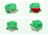 Naruto Shippuden Frog Coin Purse Cosplay Props Frog Wallet Anime Manga Kids Gift