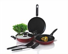 Alda Premium Japanese Non Stick Coating Cookware Gift Set - 6 Pcs.