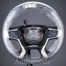 84394041 Colorado Canyon HEATED LEATHER STEERING WHEEL  Black NEW
