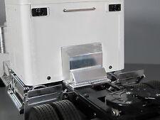 Aluminum Rear Cab Shock Box Cover Tamiya 1/14 King Grand Knight Cascadia Hauler
