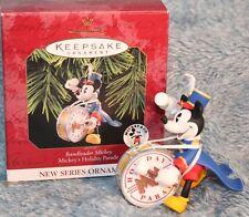 Hallmark Keepsake Ornament New Collector Series Ban Leader Mickey
