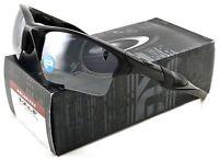 NEW OAKLEY HALF JACKET 2.0 XL SUNGLASSES OO9154-05 POLISHED BLACK / IRID POLAR