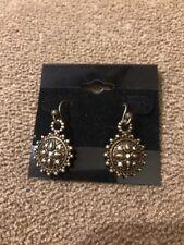 """Toned Earrings $29 (Dc) Premier Designs """"Keepsake"""" Gold"""
