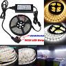 5630 SMD LED Strip Light Ruban Eclairage fête Lampe Amploue+12V Power Supply +DC