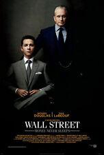 WALL STREET MONEY NEVER SLEEPS MOVIE POSTER 2 Sided ORIGINAL FINAL VF 27x40