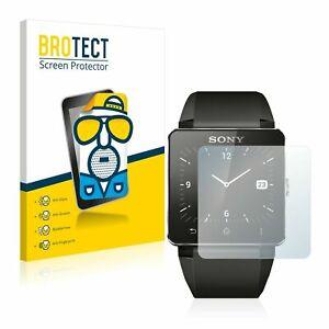 Sony Smartwatch 2, 2 x BROTECT® Matte Glass Screen Protector, Anti-Glare