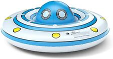 Jasonwell Inflatable Pool Float Floatie: UFO Pool Tube Ring for Kids with Detach